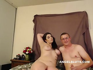 Lustful Chubby Harlot Is Being Very Naughty Alone